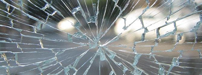 Glasschade na storm