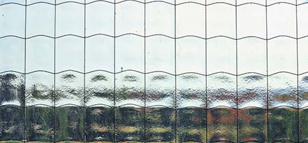 draadglas plaatsen